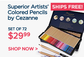 Superior Artists Colored Pencils $24.99 + Ships Free