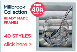 Millbrook Ready Made Frames Extra 40% off