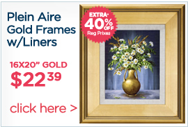 Plein Aire Frames With Linen Liners Extra 40% off