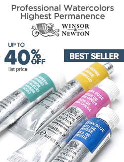 Winsor and Newton Professional Watercolors on Sale 40% OFF