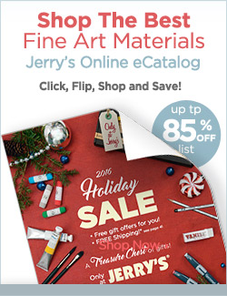 ecatalog Jerry's Holiday Art Supply Sale
