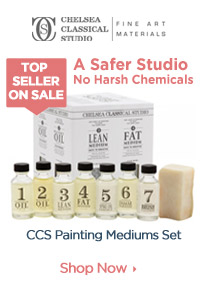 Best Selling Oil Painting Mediums- Safer No Harsh Chemicals
