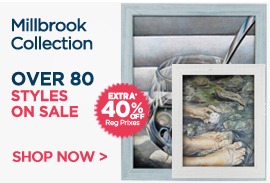 Millbrook Art Frames Collecion Extra 40% OFF