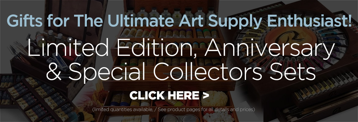 Luxury and collector art sets and supplies
