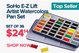 Watercolor Pan Set of 36 on Sale by SoHo