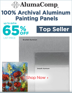 AlumaComp Aluminum Painting and Mounting Panels On Sale 65% off