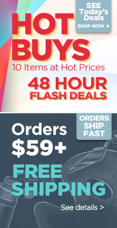 Daily Deals and Free Shipping $59 or more