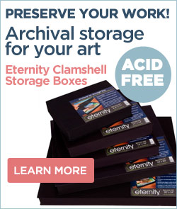 Archival Storage Boxes for Art, Photos and memorabilia
