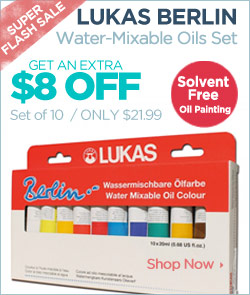 Lukas Berlin Water Mixable Oil Color Sets sale