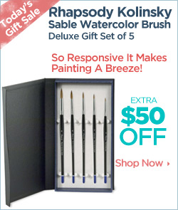 Rhapsody Brushes Deluxe Gift Set sale
