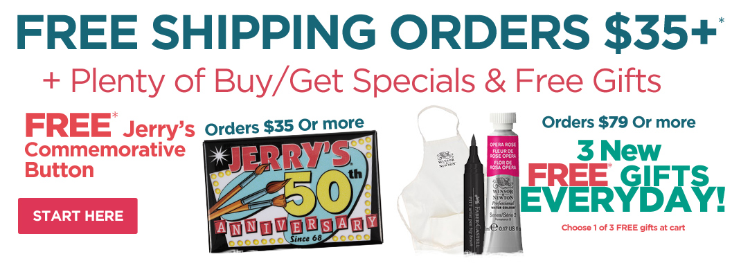 50th Anniversarry Free Gifts with orders
