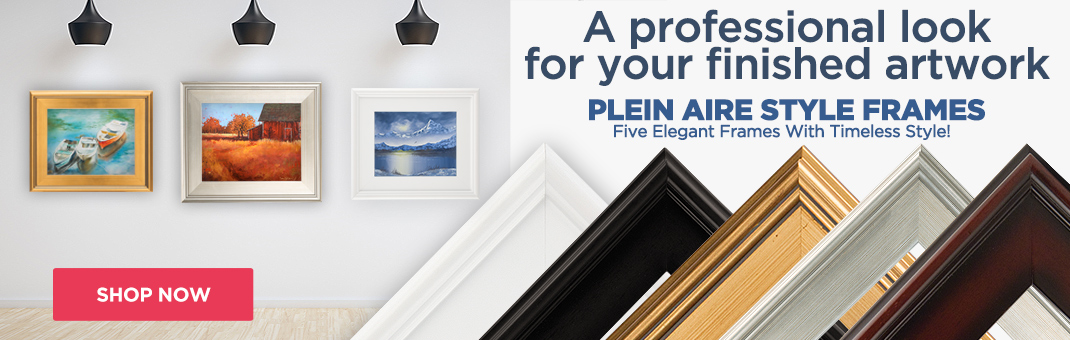 Plein Aire Style Frames - Frames For Your Artwork