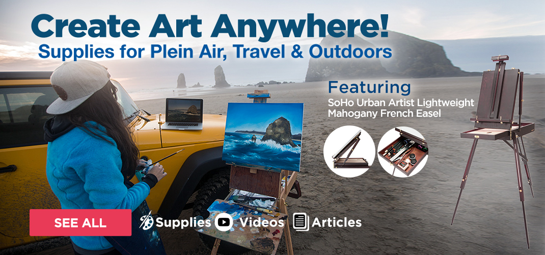 Plein air outdoor art supplies guide