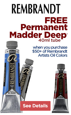 FREE 40ml Permanent Madder Deep