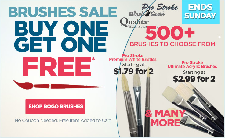 Brush Bogo Sale One Week Only