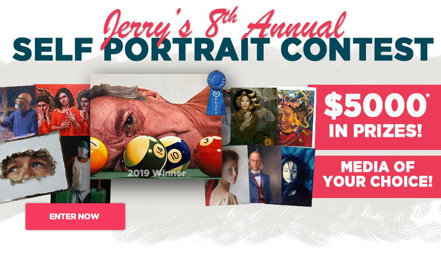 Jerry's Self Portrait Contest for Artists