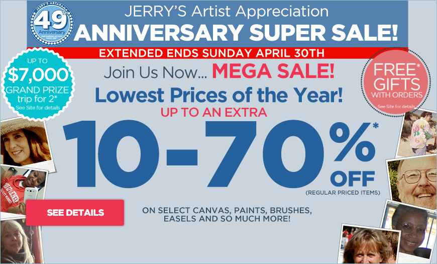 49th Anniversary Super Sales Event
