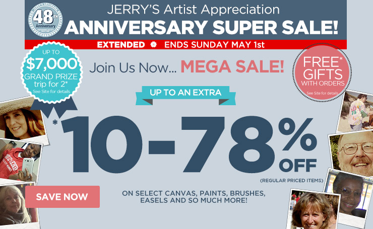 Join Us Now... MEGA SALE! - Up to an Extra 10-78% Off regular priced items