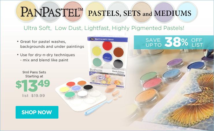 PanPastel Artists Pastels & Sets