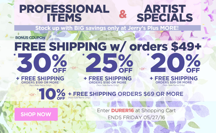 Save up to 30% Off Orders Over $199 Plus Free Shipping - Ends Friday, May 27th - Must Use Code durer16 At Checkout.