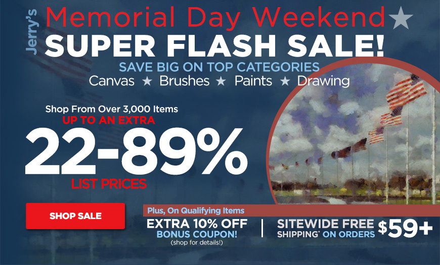 Memorial Day Weekend Super Flash Sale - Up to 89% Off  plus Sitewide Free Shiping orders $59+