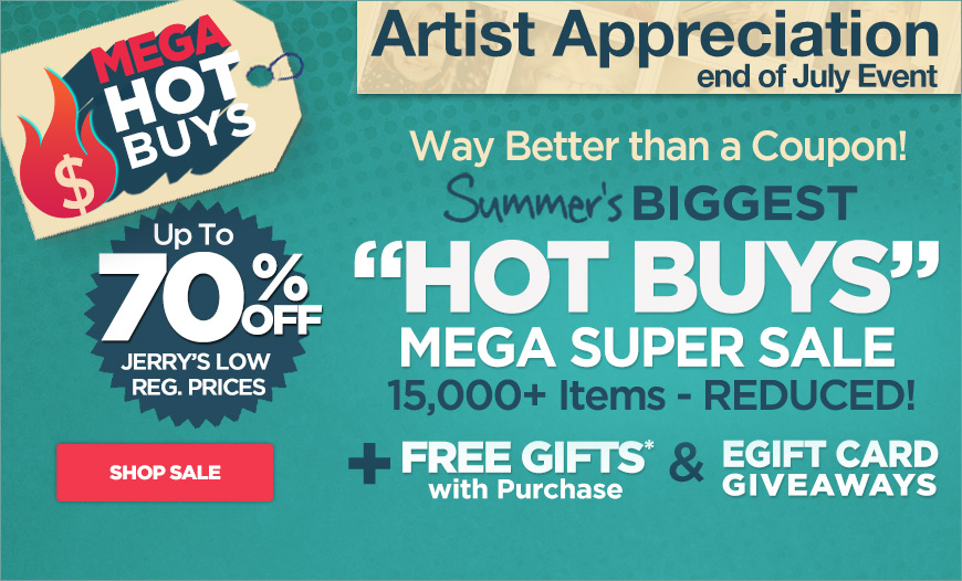 MEGA HOT BUYS SALE - Up to 70% Off Regular Prices - 15,000+ Items Reduced