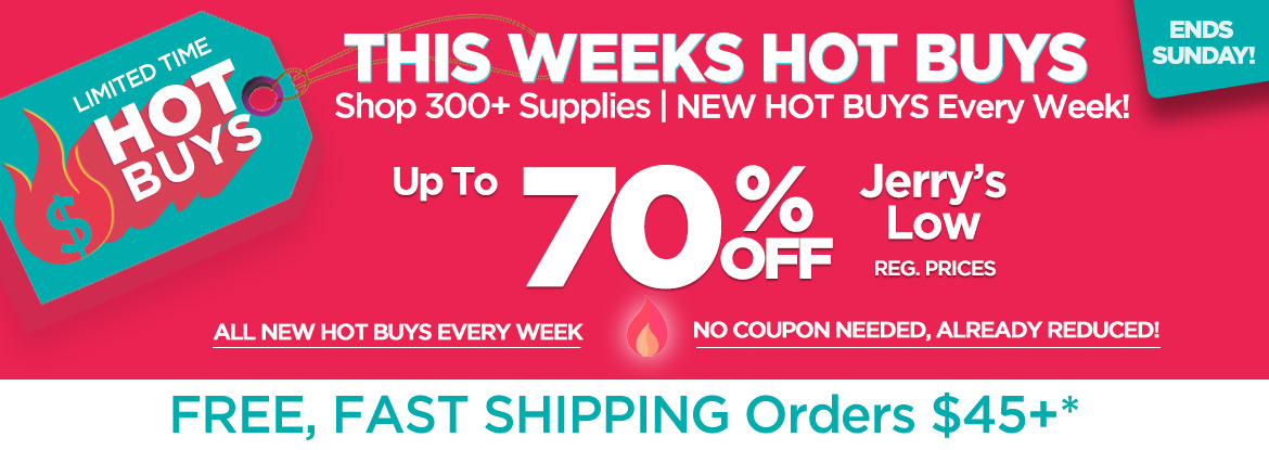 Limited Time HOT BUYS - Up to 70%OFF Reg Prices