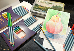 Working With Watercolor Pencils