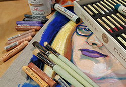 Episode #65: Oil Pastels & Oil Sticks