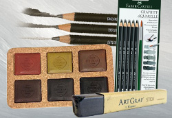 Episode #62: Pencil, or Paint? Try Water Soluble Graphite