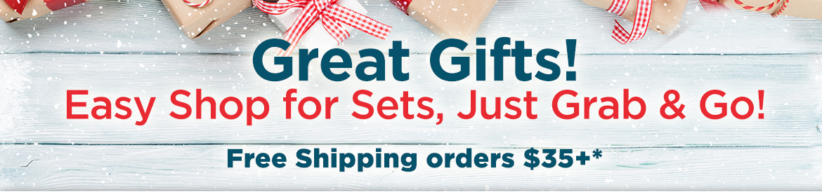 Great Gifts Easy Shop for sets