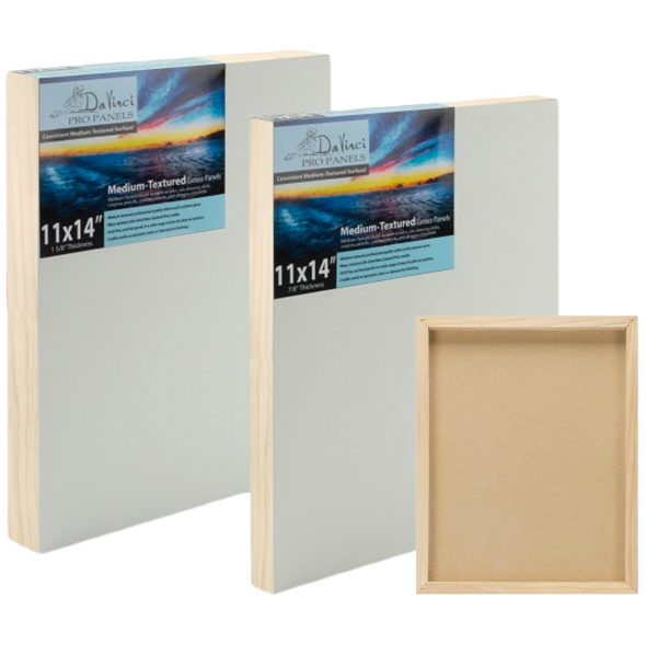 Medium Textured Gesso Panels
