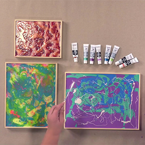 Professional Liquid Art Multi-Media Panels