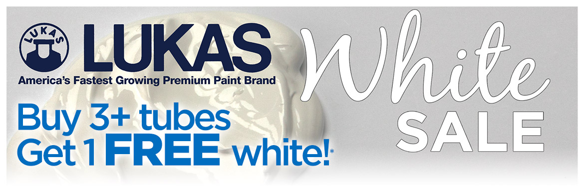 Lukas White Sale But 3+ Tubes and get 1 Free*