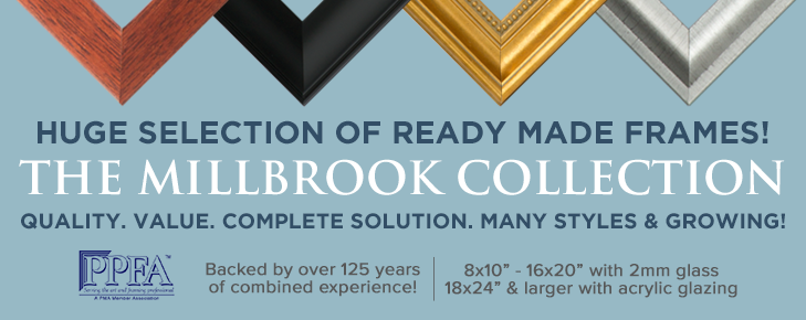The Millbrook Collection of Ready Made Wood Frames