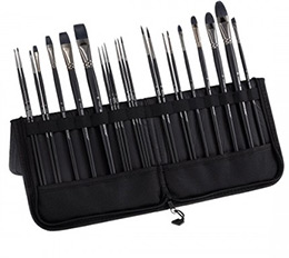 Black Swan Professional Brush Set of 23 with Case