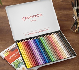 Caran d'Ache Supracolor II Watercolor Pencil Limited Edition Tin Set of 30