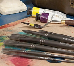 Grey Matters Painting Brush Sets