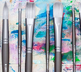 Grey Matters Oil Brushes