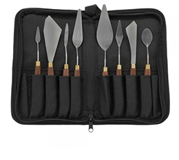Painters Edge Studio Palette Knives with Case Set of 8