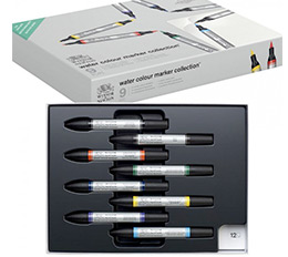 Winsor & Newton Water Colour Marker Collection Set