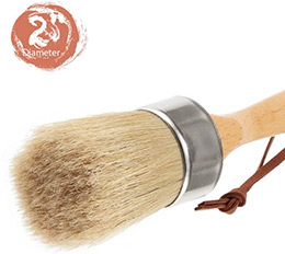 High Point 2in Diameter Paint and Wax Finishing Brush