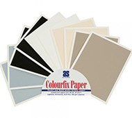 Colourfix Fine Tooth Pastel Paper Sampler 10 Pk