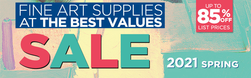 Find what's On Sale at Jerry's for Art Supply Savings this Spring 2021