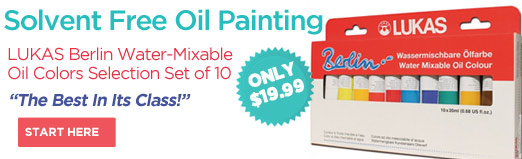 Lukas Berlin Water Mixable Oil Paint Sets