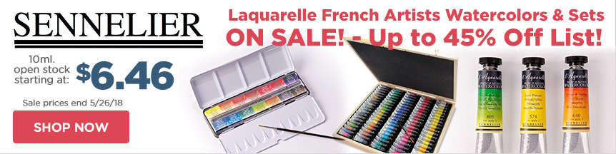Shop Sennelier Laquarelle French Artists Watercolors