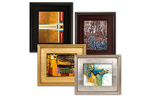 We carry a large variety of picture framing tools, equipment, pre-cut mats and full sheet boards, and picture framing hardware.