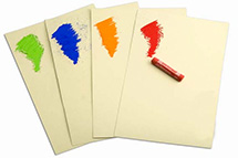 Just about everyone's artistic experience starts with a piece of paper and something to draw or paint with. Artist paper, including drawing paper, inkjet paper, pastel paper, watercolor paper, and vellum.