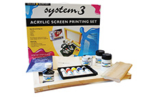 Screen Printing Inks have good body and screen beautifully with excellent resolution. We feature all of the finest products by Speedball and Jacquard, two companies that have revolutionized the screen printing process.