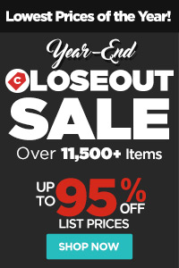 Year End Closeouts Sale - Up to 95% OFF - Huge Savings!